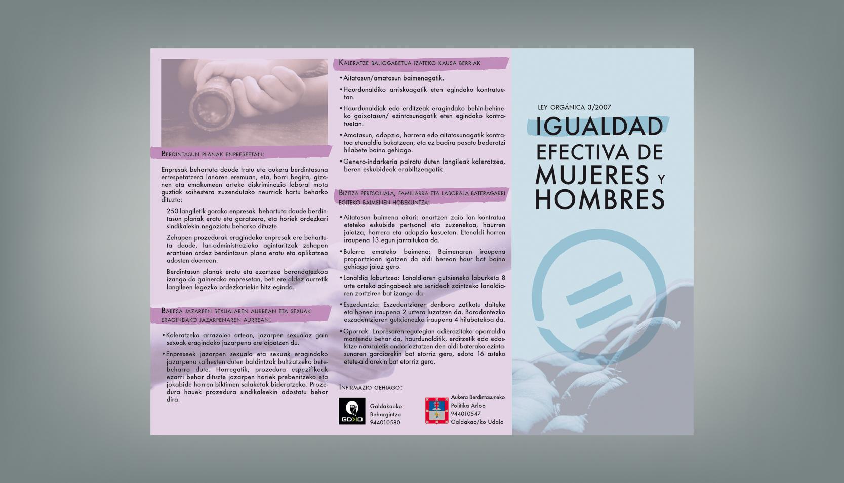 folleto euskera