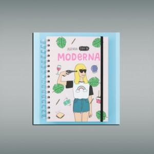 agenda 2017-18 moderna de pueblo